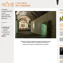 L'art dans les chapelles. Art contemporain et patrimoine religieux en Bretagne