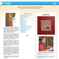 Mirondella, galerie virtuelle d'art contemporain - Art textile et plasticiens textile