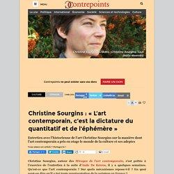 Christine Sourgins : «L'art contemporain, c'est la dictature du quantitatif et de l'éphémère»