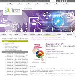 FA 29 : Figures de l'art 29. Le design dans l'art contemporain - Recherche - Université de Pau et des Pays de l'Adour (UPPA)