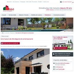 Une maison de ville élégante et contemporaine - IGC Construction
