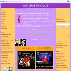 6e : Musique et Société contemporaine (Description de la ville)
