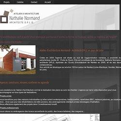 architecte nantes loire atlantique construction renovation extension maison contemporaine 44 Projets Locaux professionnels batiment d'activités artisanales Bouaye