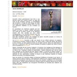 Jannis Kounellis, Arte Povera, artistes, contemporains, art contemporain, peinture, art moderne