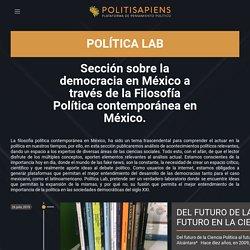 Filosofía política contemporánea en México
