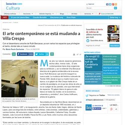 El arte contemporáneo se está mudando a Villa Crespo - 27.11.2014