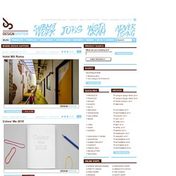 Modern & Contemporary Design Portal / Daily Blog / DESIGNSPOTTER
