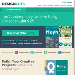 The Contemporary Creative Design Collection « Design Cuts