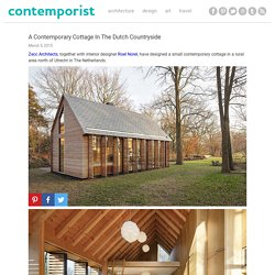 A Contemporary Cottage In The Dutch Countryside