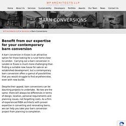Contemporary Barn Conversion Architects