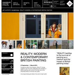REALITY: Modern & Contemporary British Painting / Exhibitions