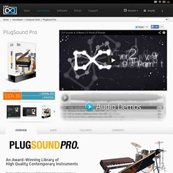 PlugSound Pro - Virtual Contemporary Instruments