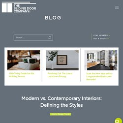 Modern vs. Contemporary Interiors: Defining the Styles