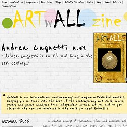 Contemporary Art Magazine | Artwall zine