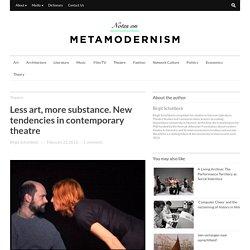 Notes on Metamodernism