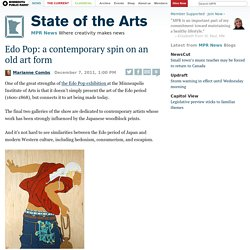 Edo Pop: a contemporary spin on an old art form | State of the Arts