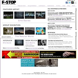 F-Stop Magazine ~ An online photography magazine featuring conte