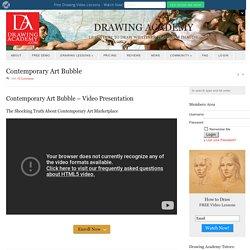 Contemporary Art Bubble Video Presentation