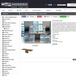 Astor (Walnut)-Modern Sense Furniture-Toronto - Modern contemporary furniture and Custom sofas and sectionals
