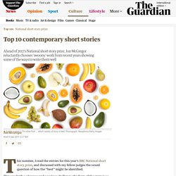 Top 10 contemporary short stories