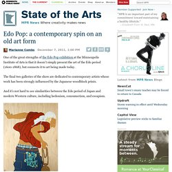 Edo Pop: a contemporary spin on an old art form