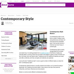 Contemporary Style - Contemporary Style Guide