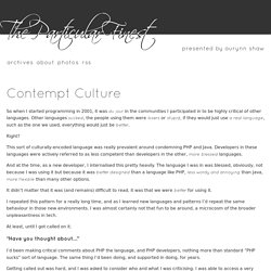 Contempt Culture - The Particular Finest