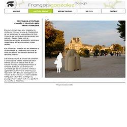 Conteneur pour Emmaüs - François Gonzalez - Design Portfolio