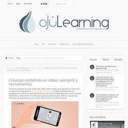 Creando contenido en vídeo, ejemplos y herramientas