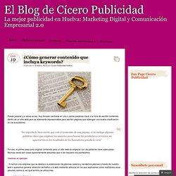 El Blog de Cícero Publicidad