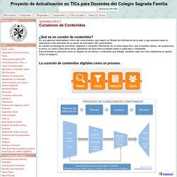 Curadores de Contenidos - Proyecto de Actualización en TICs para Docentes del Colegio Sagrada Familia