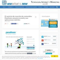 El servicio de curación de contenidos Pearltrees renueva su web y sus aplicaciones móviles