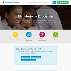 Núcleos de Aprendizaje Prioritarios para la Educación Primaria