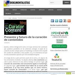 Presente y futuro de la curación de contenidos