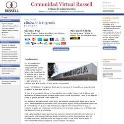 Clínica de la Urgencia - Comunidad Russell - Contenidos - servicios y educacion a distancia - cursos psicoanalisis
