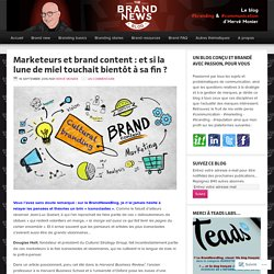 Brand content & brand culture – The brandnewsblog l Le blog des marques et du branding