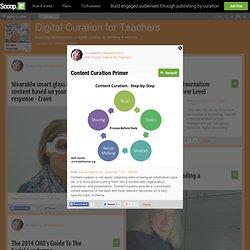 Digital Curation for Teachers