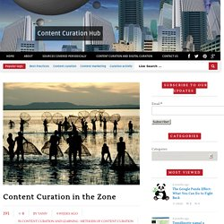 Content Curation in the Zone - Content Curation HubContent Curation Hub