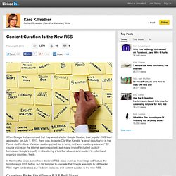 Content Curation Is the New RSS