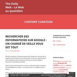 The Daily Web – Le Web au quotidien