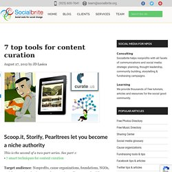 7 Top Tools For Content Curation