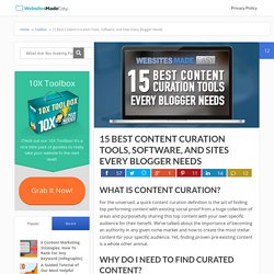 15 Best Content Curation Tools, Software, and Sites