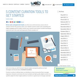 5 Content Curation Tools to Get Started