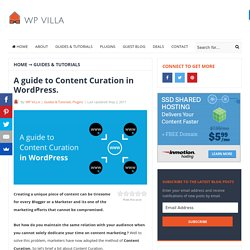 A Guide to Content Curation in WordPress - WP Villa