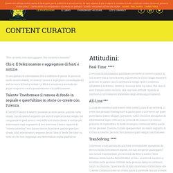 CONTENT CURATOR - Professioni del Web