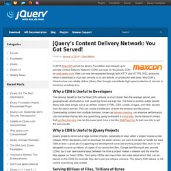 s Content Delivery Network: You Got Served!