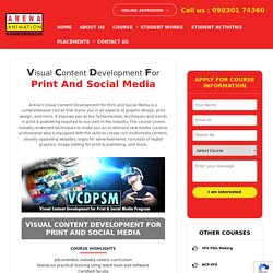 Visual Content Development Courses in Kolkata