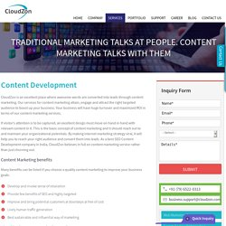 Content Development, content writing- services