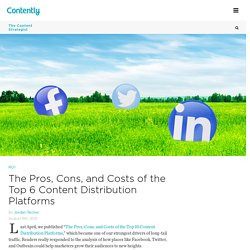 The Pros, Cons, and Costs of the Top 6 Content Distribution Platforms