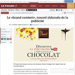 Le «brand content», nouvel eldorado de la publicité